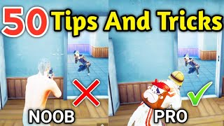 50 Tips And Tricks For PUBG Mobile | Part 2 | PUBG Mobile Tips And Tricks