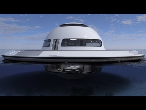 Floating UFO expected to make sea landing in 2018
