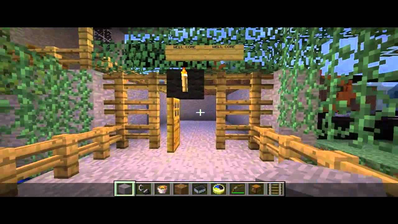 Let´s Show Minecraft Bau Ideen - YouTube