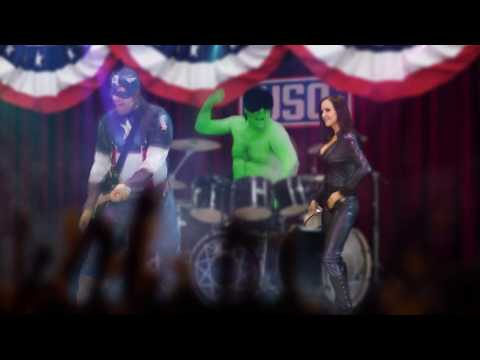 CAPTAIN AMERICA Song Parody ft Avengers for kids