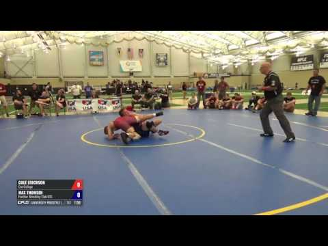 70 5th Place - Cole Erickson (Coe College) Vs. Max Thomsen (Panther WC RTC)