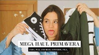 HAUL PRIMAVERA | ZARA, Pull and Bear, Converse plataforma, Fila, Laagam, Subdued...