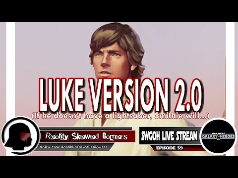 SWGOH Live Stream Episode 59: Luke Version 2.0 | Star Wars: Galaxy of Heroes #swgoh