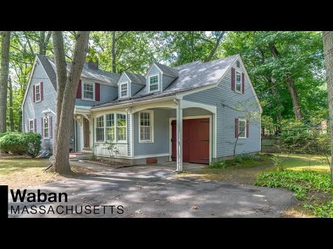 Video of 544 Quinobequin Road | Waban (Newton) Massachusetts real estate & homes