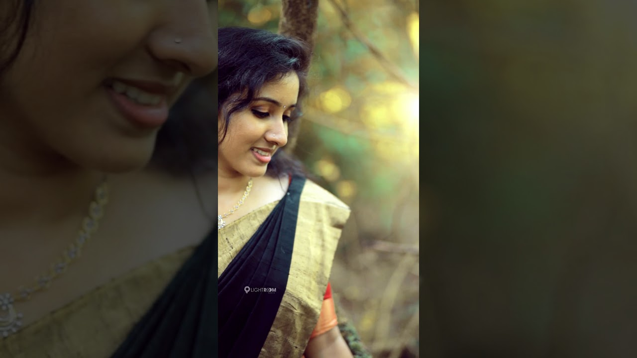 Anjitha ❤️ Prashob  save the date  portrait video