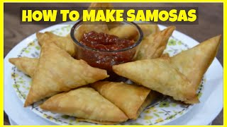 How To Make Samosa - Homemade - Ramadan Recipes | Cook With Anisa