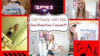| Get Ready with me | One Direction Concert! + experience! Thumbnail