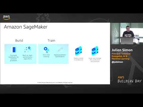 AWS Builders' Day | Machine Learning: From Notebook to Production with Amazon Sagemaker