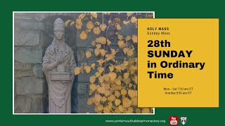 🔴LIVE SUNDAY MASS with Gregorian Chant: 28th Week in Ordinary Time | Benedictine Monks