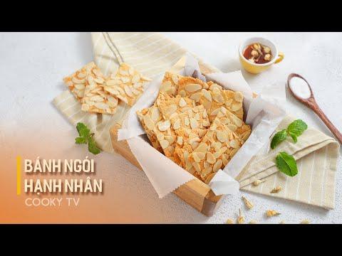 Bánh Ngói Hạnh Nhân Keto - Cách Làm Bánh Hạnh Nhân Keto Giòn Ngon, Healthy   Cooky TV