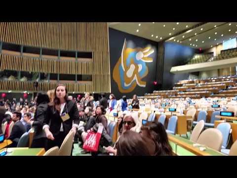 The White Dove Schools 2016 UN Conference New York