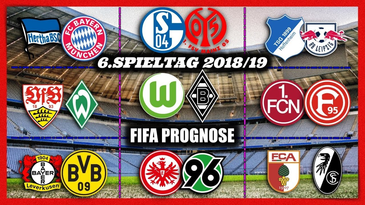 Bundesliga Spieltag 6