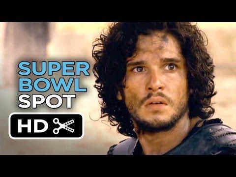 Pompeii Official Super Bowl Spot (2014) - Kit Harington Movie HD