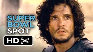 Pompeii Official Super Bowl Spot (2014) - Kit Harington Movie HD