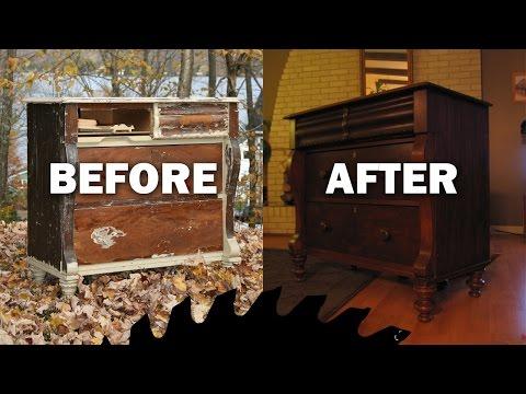 Trash to Treasure: Salvaged antique furniture - LCB #1