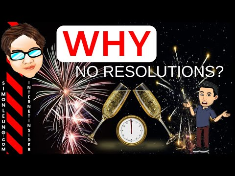Why No New Year Resolutions In 2019? (Do THIS Instead) PLUS: 15 Personal Questions Answered!
