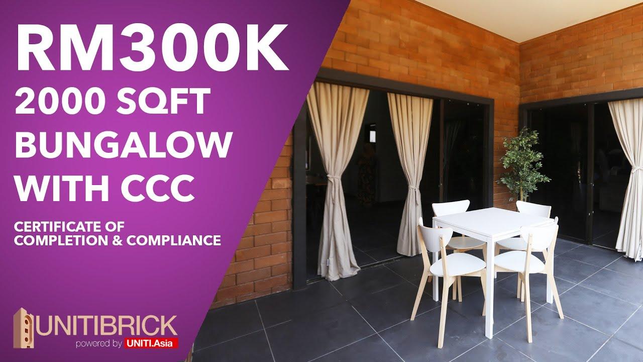 INTERLOCKING BRICK HOUSE at Port Dickson by UNITI BRICK
