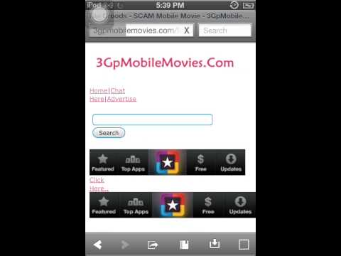 How To Download Free Movies IPod, IPhone, and IPad No PC