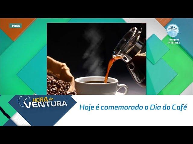 Hoje é comemorado o Dia do Café