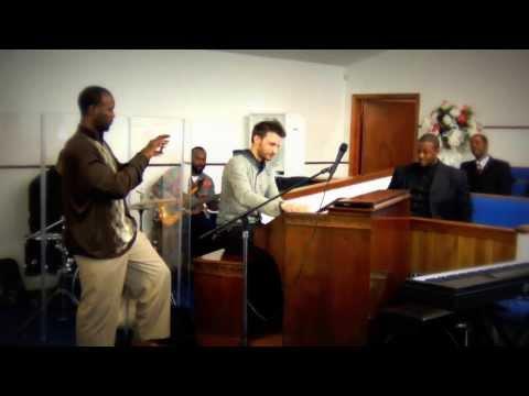 Damien Cornelis Jam at Peace Baptist Church (Memphis 2014) Gospel Organ Hammond B3 Organ