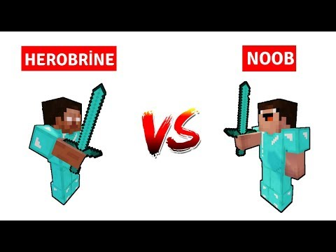 NOOB VS HEROBRİNE #Final - Savaş Başladı (Minecraft)