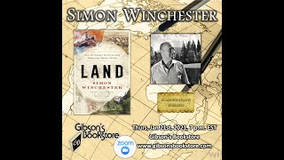 Historian Simon Winchester, with LAND