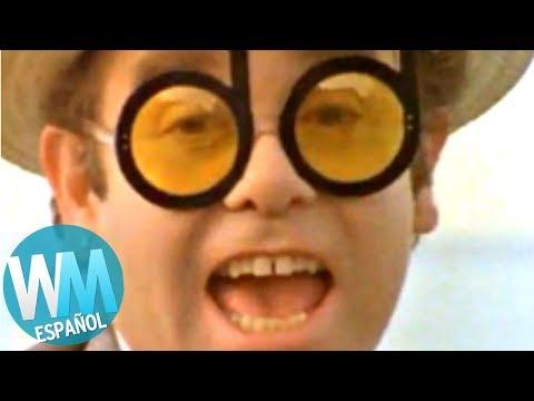 ¡Top 10 BUENAS Canciones con Videoclips ESTÚPIDOS!