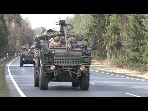 UK Troops In Poland As NATO Build Up Continues