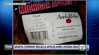 Sparta company recalls apples amid listeria risk