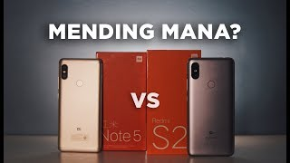 Xiaomi Redmi Note 5 vs Xiaomi Redmi S2 - Mending Mana?
