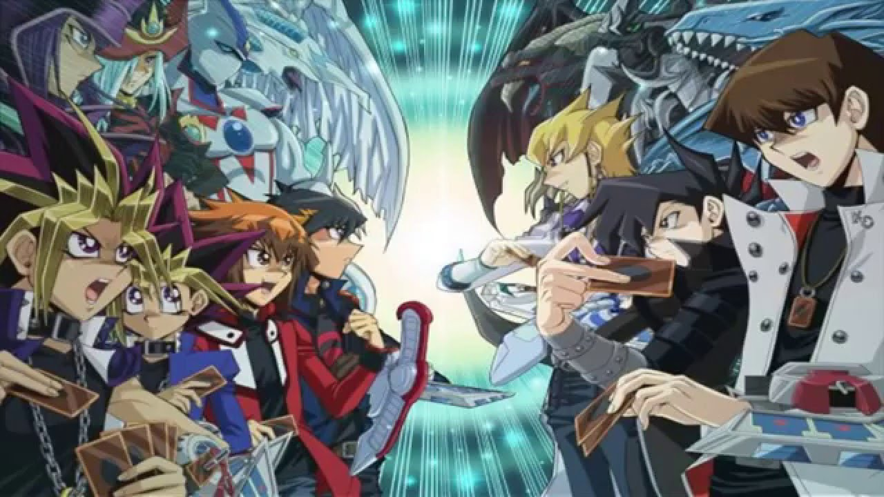 yugioh top 5 yugioh anime series december 2015 edition youtube