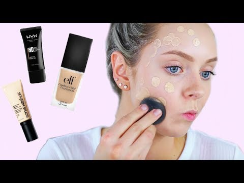 THE BEST DRUGSTORE FOUNDATION? On The Hunt!