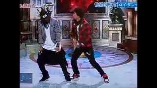 Les Twins Japan tv show