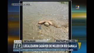 Cadáver de una <b>mujer</b> fue encontrado en río Samalá de Retalhuleu ...
