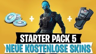 *NEU* STARTER PACK 5 Cobalt Skin & Kostenlose RDW Skins | Fortnite Battle Royale