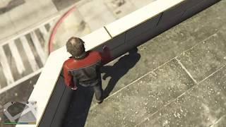 Grand Theft Auto V Trevor perform a swanton bomb