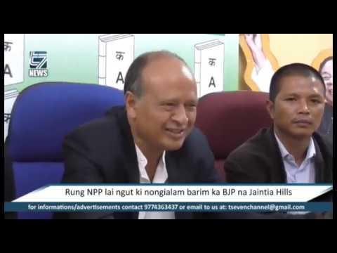 Rung NPP lai ngut ki nongialam barim ka BJP na Jaintia Hills