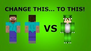 How Change Your Skin Minecraft Ed Users