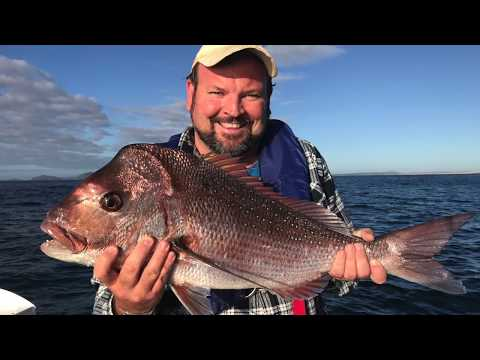Fishing Port Stephens Big Snapper @ The Sisters