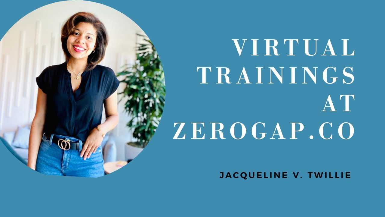 2020 Virtual Training and Development Sessions