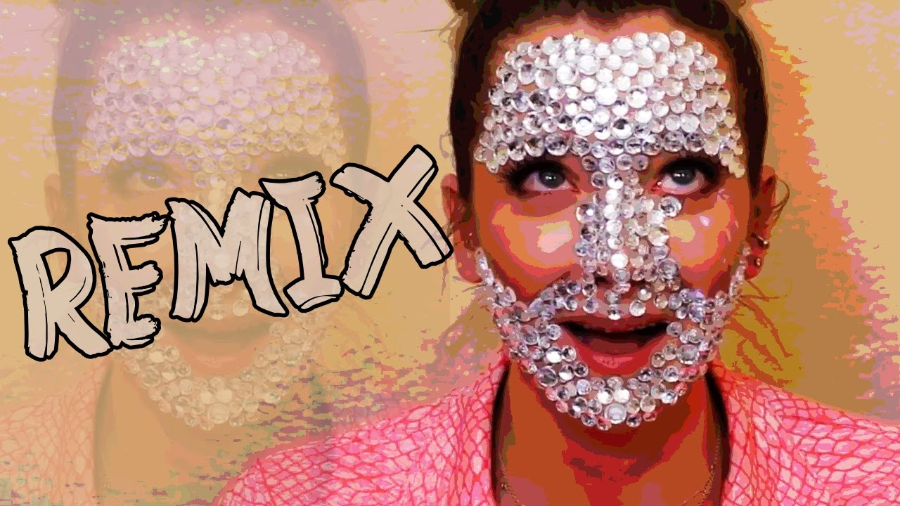 Full Face Of Rhinestones Jenna Marbles Ballad Remix