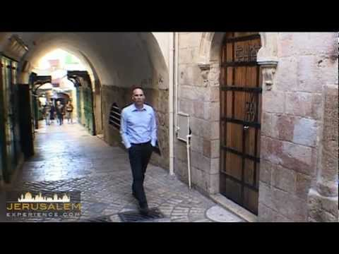 Veronica & Jesus - Stations number 6 & 7 - Via Dolorosa