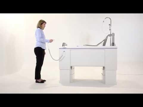 Gentona Variable Height Bath 3