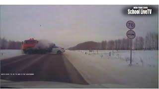 Подборка ДТП с видеорегистраторов часть 3 (2016 январь )