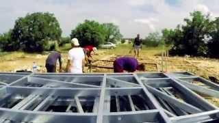 Строительство ЛСТК дома. Весь цикл.(Процесс строительства дома из ЛСТК в пятиминутном ролике., 2015-04-09T12:27:36.000Z)