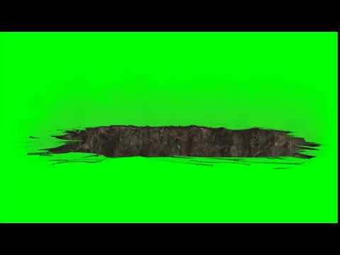 Green Screen Earth Quake - Full Hd - Licence Free - For Use