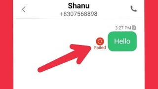 How To Fix Message Not send Android Phone