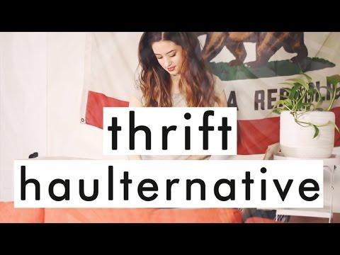 Fashion Revolution Week: Second Hand Haulternative | Try on Thrift Haul