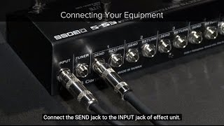 ES-5 Quick Start Chapter 1: Connecting Your Equipment
