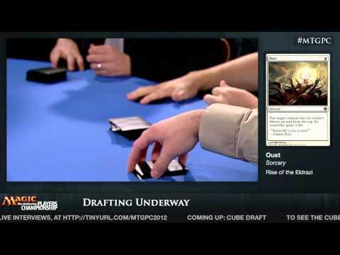 2012 Players Championship: Cube Drafts